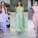 Модные тренды платьев 2019