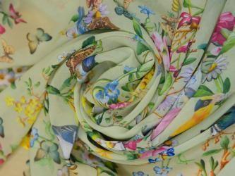 Уход за шелковыми тканями